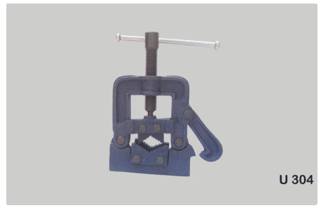 Hinged Pipe Vice Code No. U304 (self Locking)