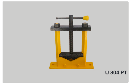 Pipe Vice Pillar Type Code No. U304 P.t. (changeable Jaws)
