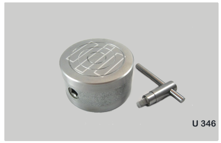 Permanent Magnetic Chuck, Round Type Code No. 346